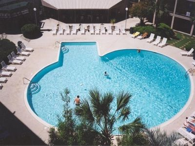 One of three Hilton Head Resort pools located right below our villa