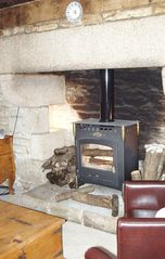 Pont-Aven cottage photo - Fireplace