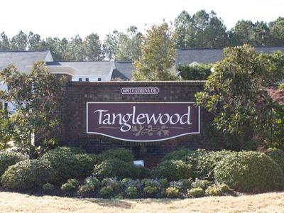 entrance to the Tanglewood community