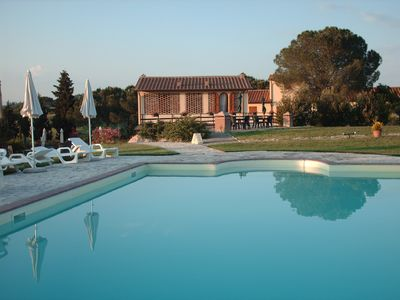 Apartment 4 + 2 in agri-tourism with pool in the Chianti hills