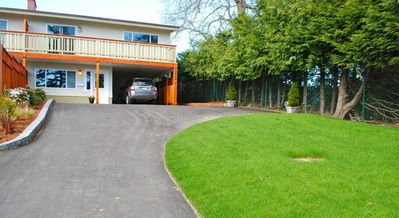 Saanich house rental - Lots of Free Parking and a quiet, end of street, location.