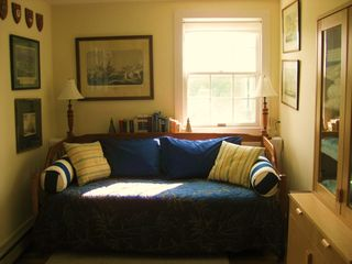 Chilmark house photo - nautical study with desk is a comfy reading spot