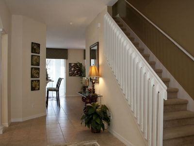Spacious Hallway leading to Family Room