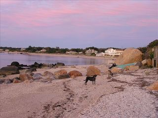 Southold house photo - Walking East on the beach at sunset