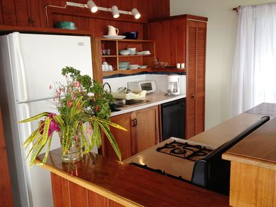 Montserrat villa rental - Kitchen area with everything you need to cook, eat in and enjoy!