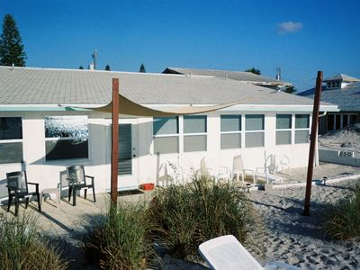 Englewood Beach condo rental - Your door here opens directly on to this beautiful beach!