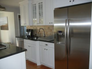 Water Mill house photo - All stainless steel kitchen