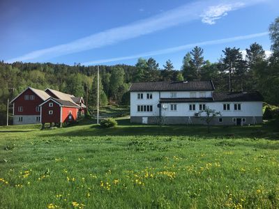 Gardshus with annexe (ad # 8445044), rural, good fishing opportunities, beautiful hiking area