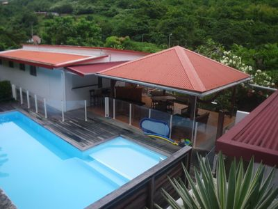 Houses with garden and pool