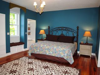 Montague house photo - Spacious 2nd floor Master Bedroom with en suite and a view of Lake Michigan