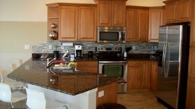 Open kitchen - all new appliances