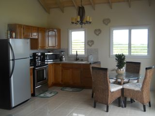 Long Island villa photo - clean spacious full kitchen with dining area