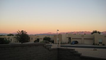 Green Valley townhome rental - Sit and enjoy this beautiful view from our backyard patio