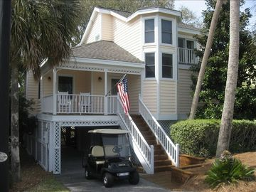 Isle of Palms house rental - View from cul-de-sac