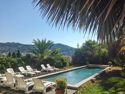 French Riviera villa w/ private pool,WiFi - minutes from Cannes & the Croisette