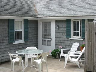 Dennisport cottage photo - Deck