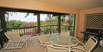 Large Lanai To Read Or Enjoy the Evening Air