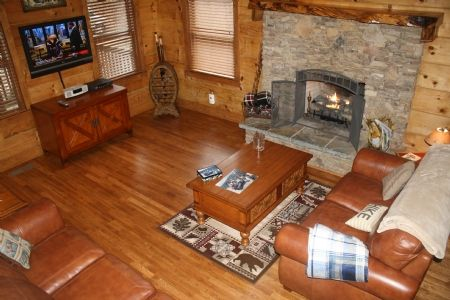 Shanty Cabin Beautiful Log Cabin 4br Sleeps Vrbo