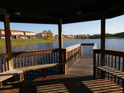 Gazebo fishing dock