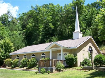 Smoky Mountain Mansion Chapel - just a few steps away from the mansion.