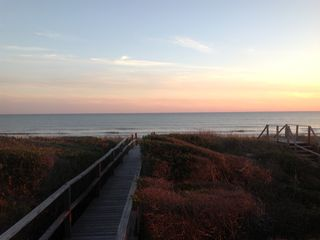 Holden Beach house photo - Sunset over the Dunes