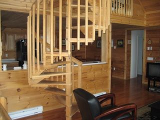 Blakeslee house photo - Spiral to Loft