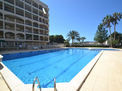 Apartment in residence with swimming pool close beach and centre in La Pineda