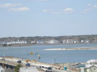 Belmont Towers Ocean City condo photo - Bay View from 805wonderland's Back Balcony