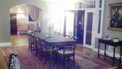 Saugatuck / Douglas estate rental - Reception Room opens to the large private terrace. Seating for 10 or more