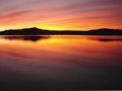 Elephant Butte Lake sunrise