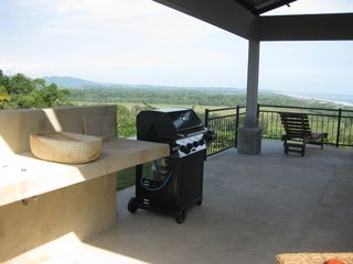Playa Hermosa estate photo - Spacious Outdoor Patio with Covered Lounge Area