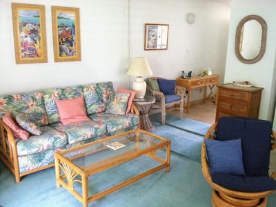 A comfortable Maui home, an easy walk to the beach, restaurants, and shops.