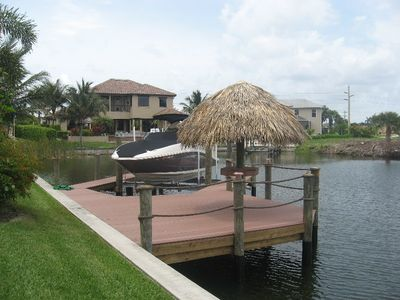 Boat dock (ask about lift availability)