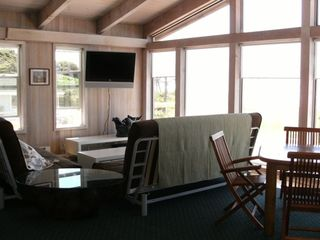 Yachats house photo - Second Floor Gathering Room is 20X25 sq ft with view of ocean everywhere.