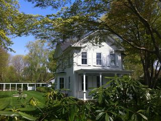 Bridgehampton house photo - One of Bridgehampton's great 19th century houses with beautiful grounds and pool