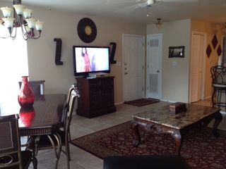 "New Braunfels condo photo - 46"" TV"