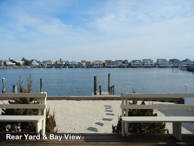 View of Backyard & ramp; Bay