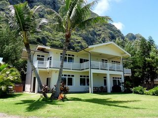 Waimanalo house photo - View of House from the Ocean!