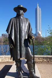 Check out the Austin Landmarks, Stevie Ray Vaughan