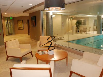 Indoor Heated Pool, Hot Tub, Men/Woman Lockers, Fitness Center, Spa & Boutique