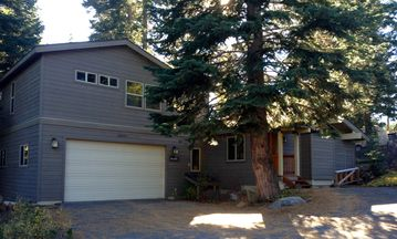 Donner Lake house rental - Front of house