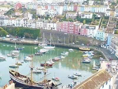 Brixham house rental - View from Patio