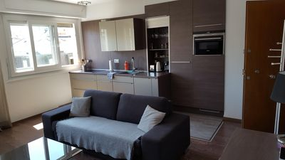 Modern apartment 100 meters from Lake