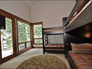 5th bedroom w/bunks. bath