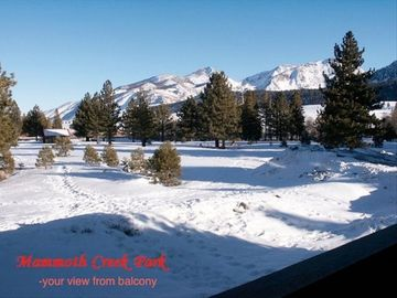 Mammoth Lakes condo rental