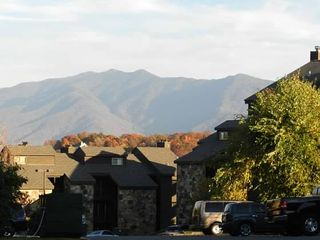 Gatlinburg condo photo - View of Mountains from our parking lot at High Chalet