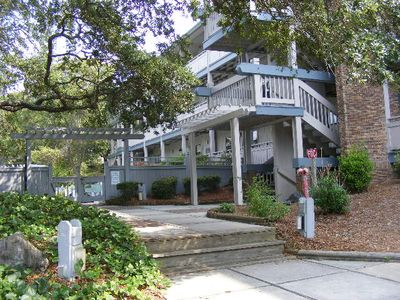 Surfside Beach condo rental - Pool entrance