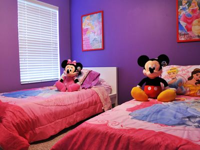 6 out of 7 modern bedrooms. Disney Rentals.