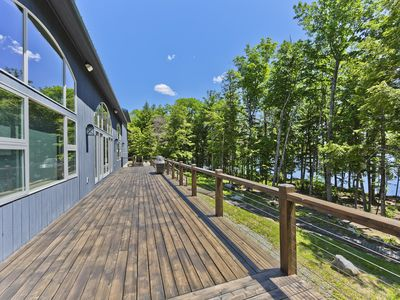 GLAMping at it's BEST!  Secluded 6k Sq. Ft property on 1 mile of shore Frontage