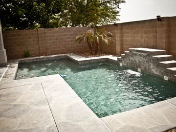 San Tan Valley house rental - Beautiful Private Pool with waterfall!
